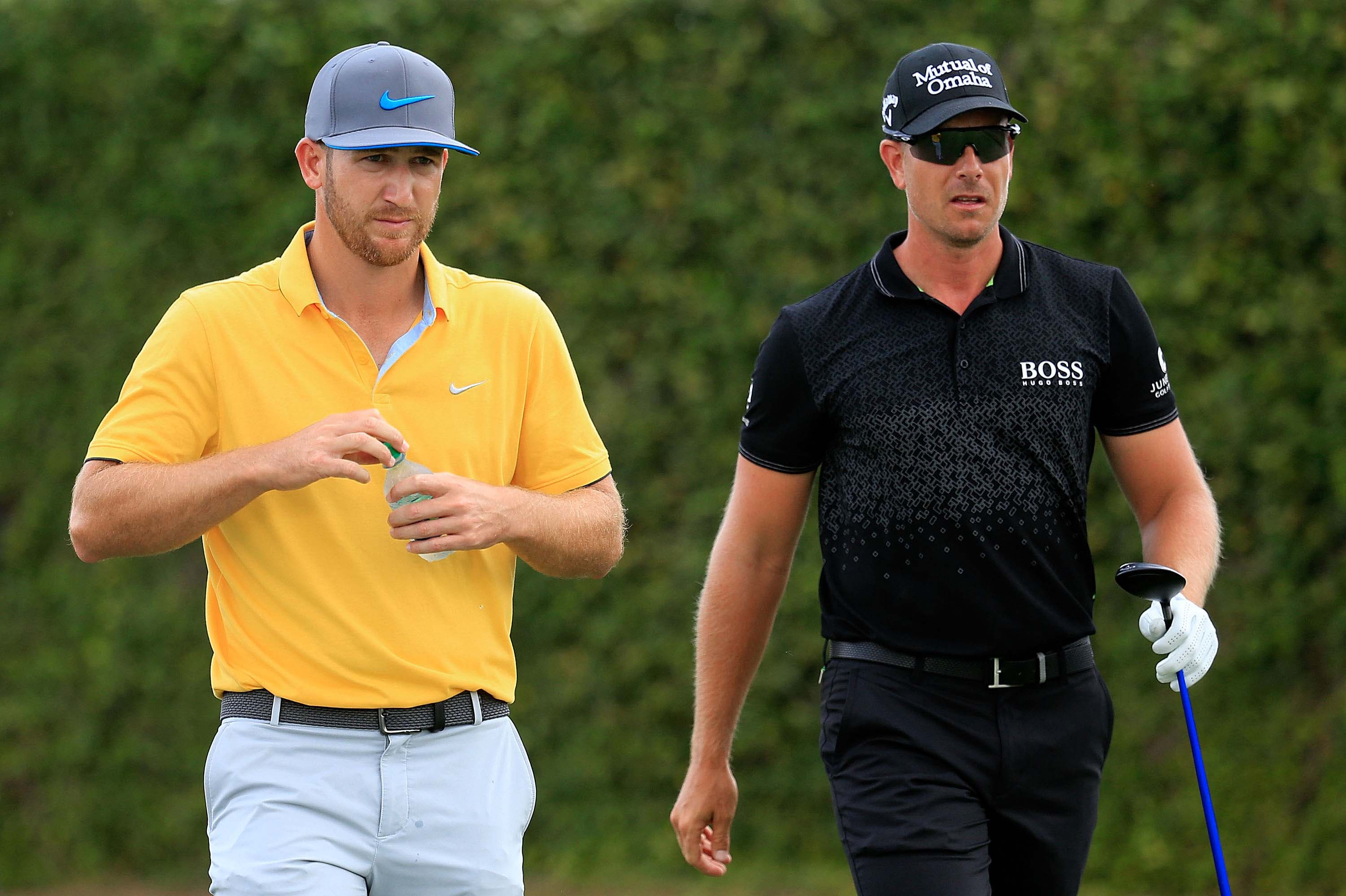 Kevin Chappell and Henrik Stenson