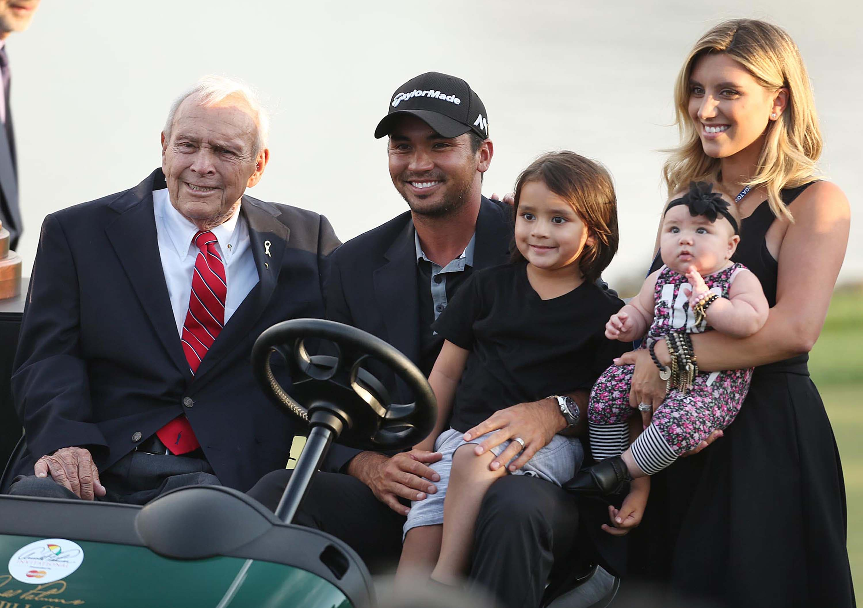 Arnold Palmer and the Day family