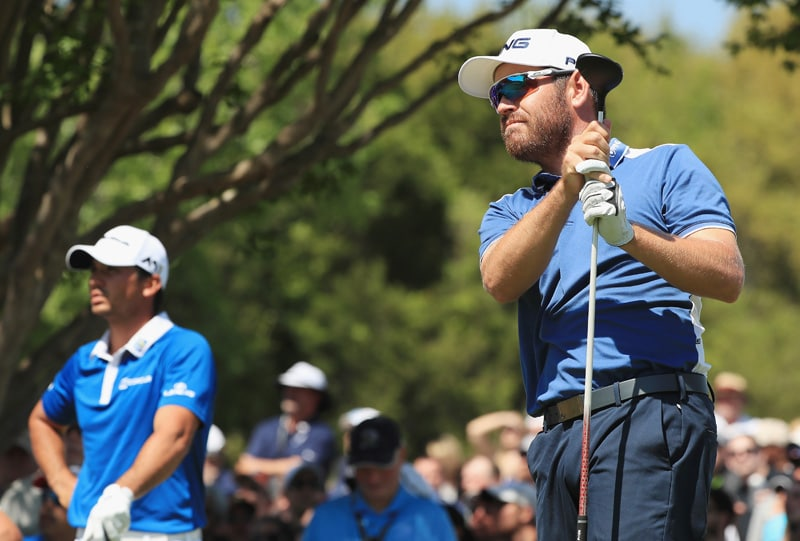 Louis Oosthuizen and Jason Day