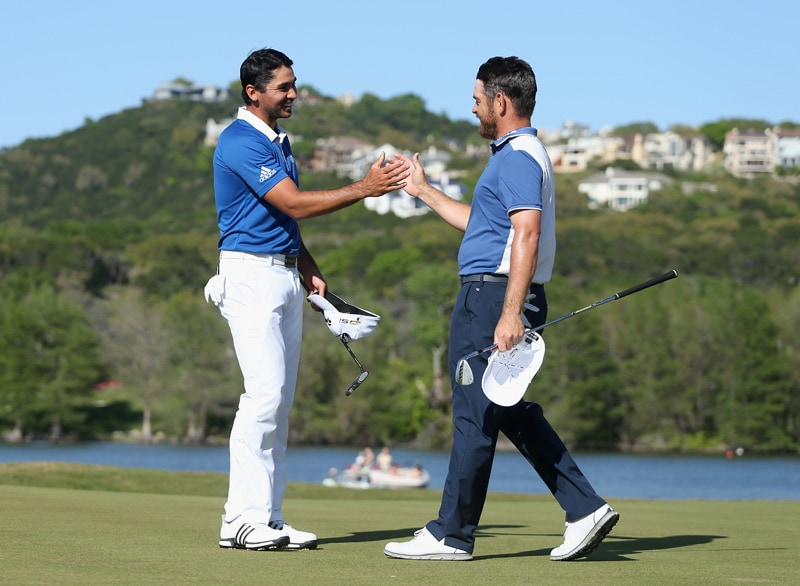 Jason Day and Louis Oosthuizen