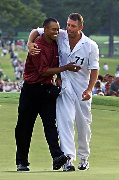 2001 champion Tiger Woods