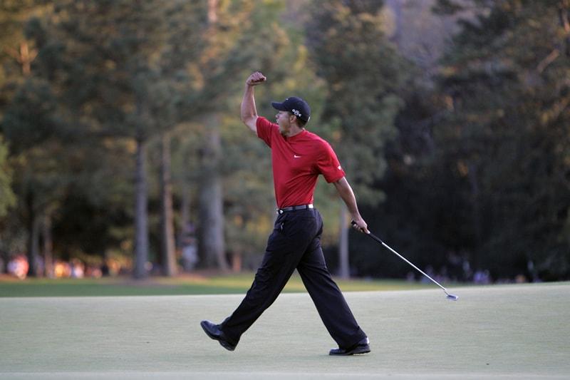 2005 champion Tiger Woods