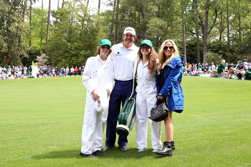 Evan, Phil, Amanda and Amy Mickelson