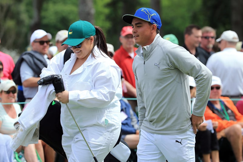 Taylor and Rickie Fowler