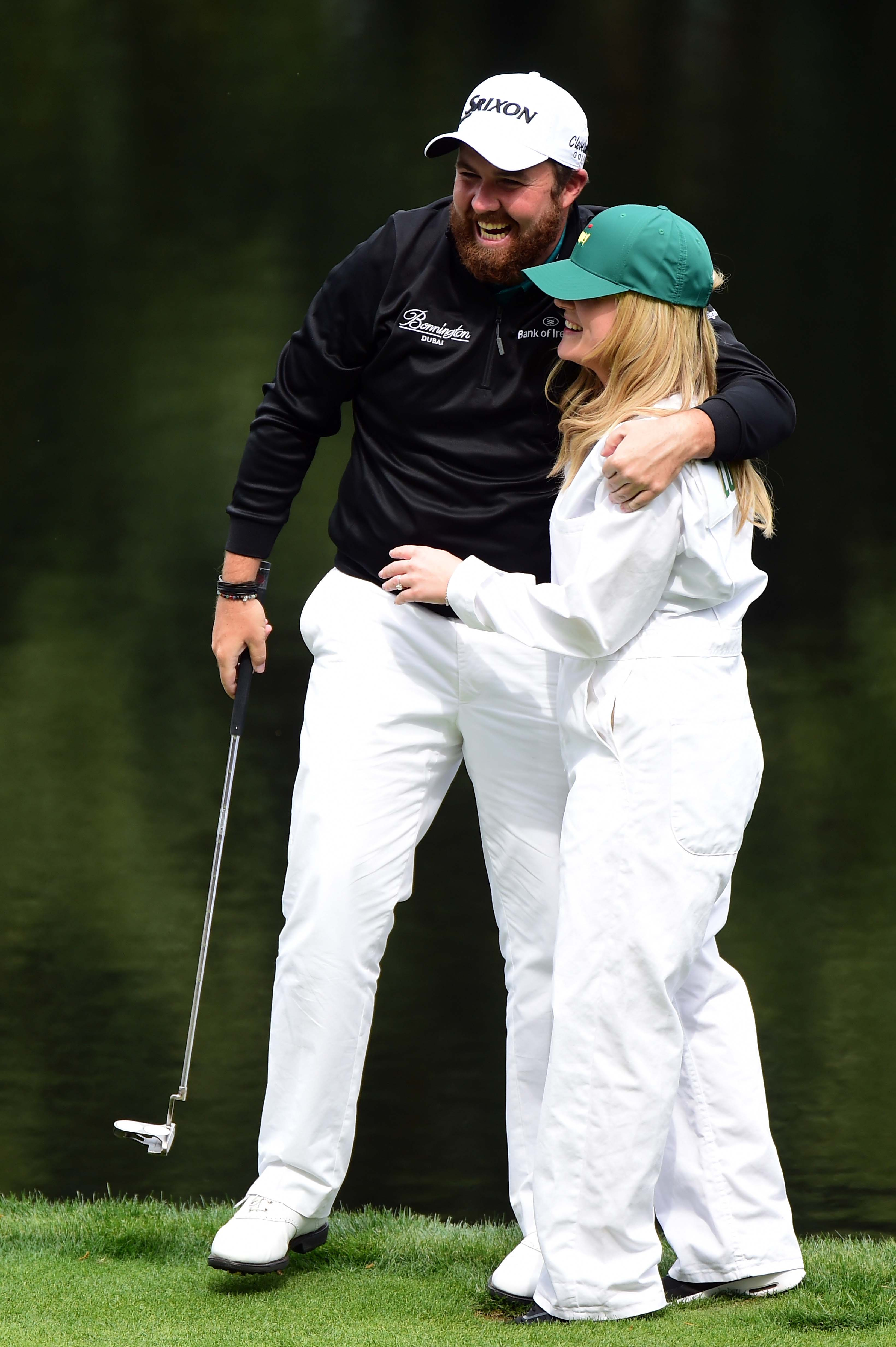 Shane Lowry and Wendy Honner