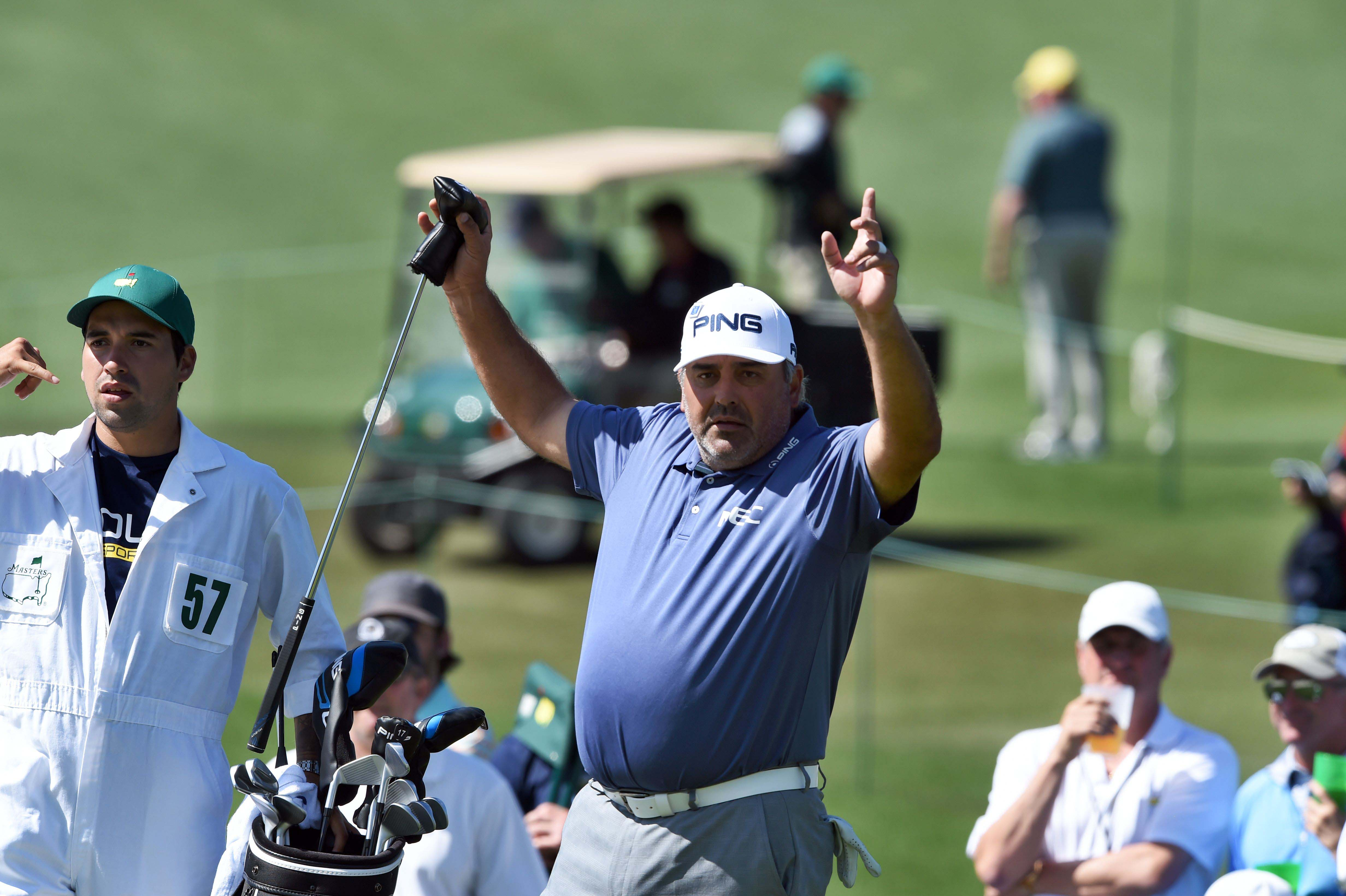 If it looks like a duck and walks like a duck, it's probably a former Masters champion
