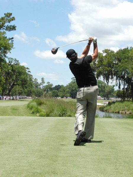 Mickelson swing sequence, 10
