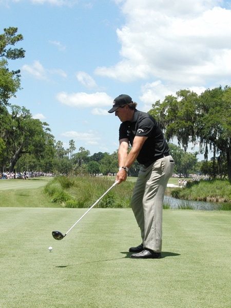 Mickelson swing sequence, 2