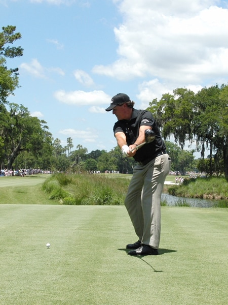 Mickelson swing sequence, 3