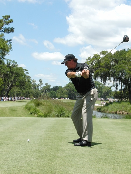 Mickelson swing sequence, 4