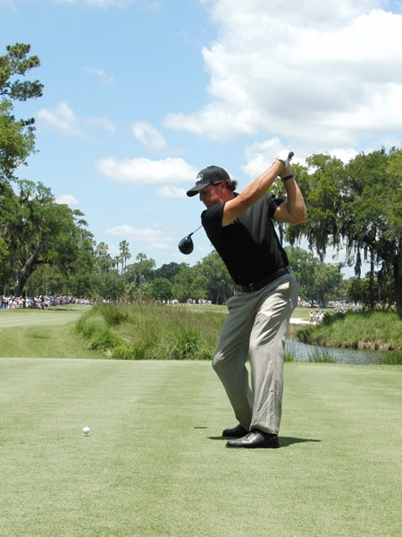 Mickelson swing sequence, 5