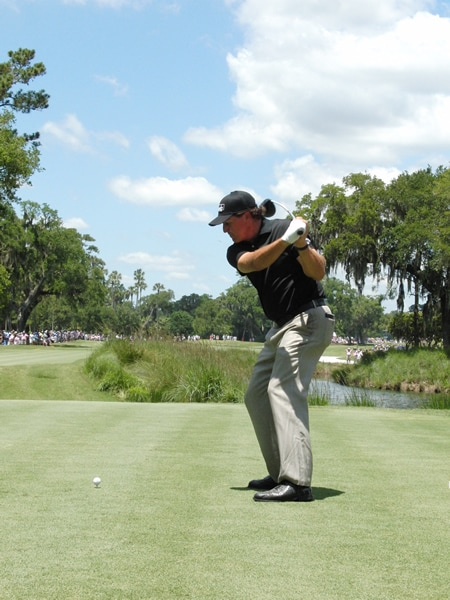 Mickelson swing sequence, 6