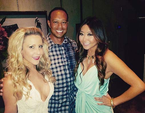 Tiger Woods and Maria Ho