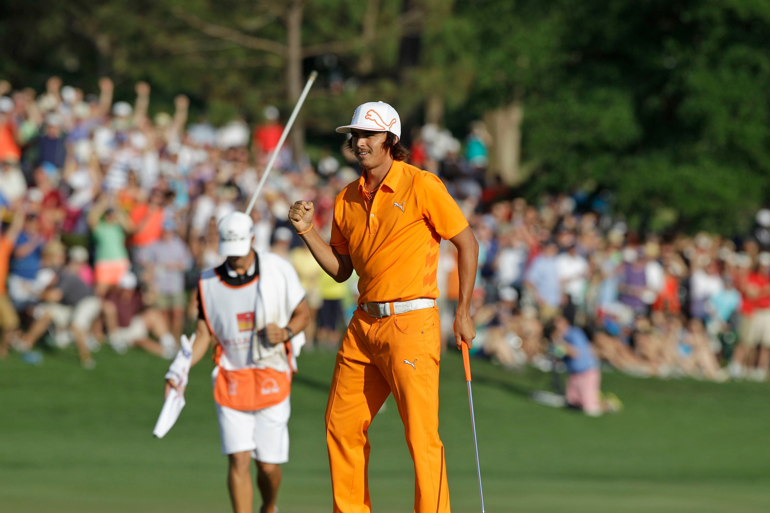 1. 2012: Rickie Fowler's first win