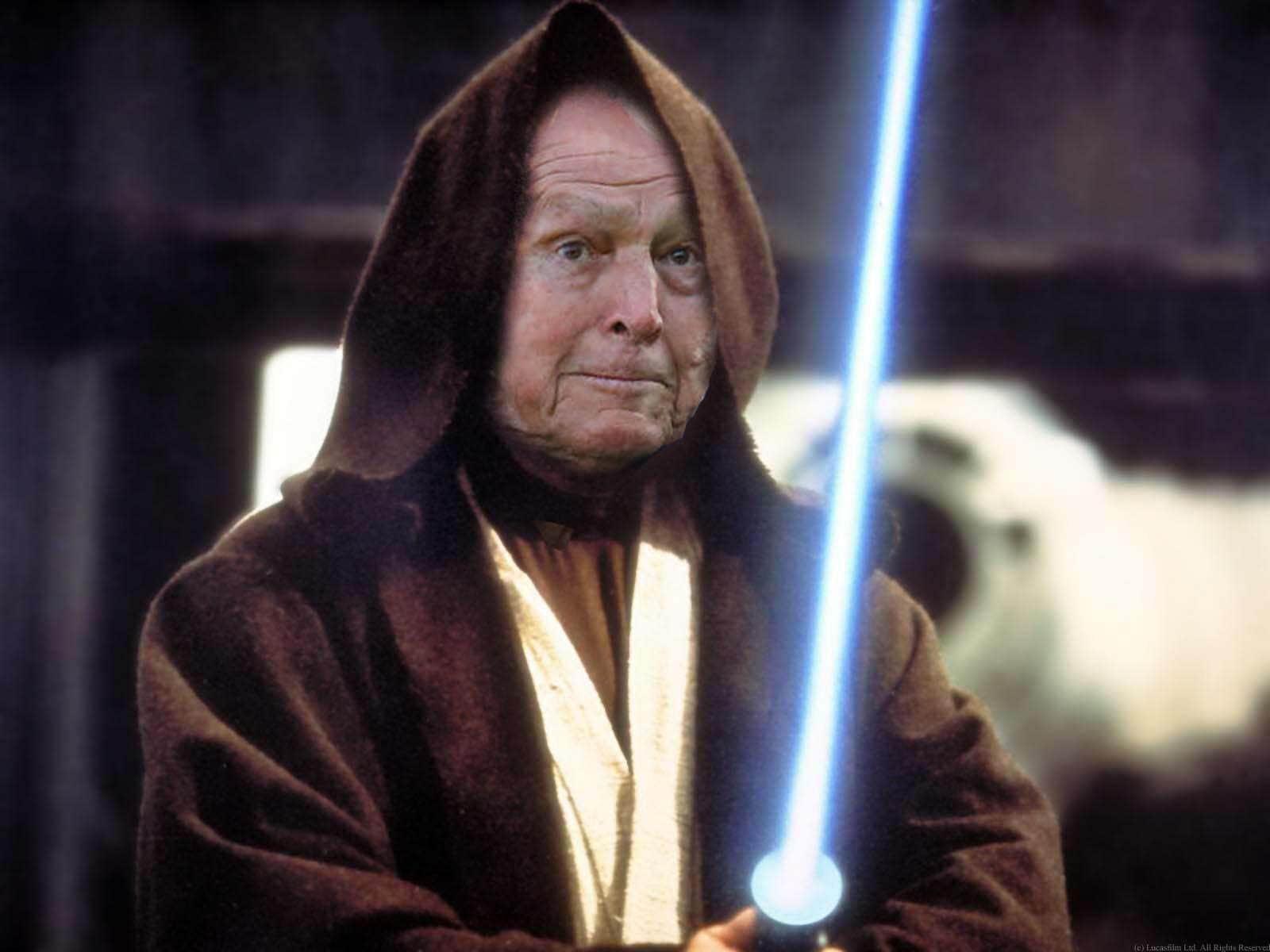 Arnold Palmer as Obi Wan Kenobi