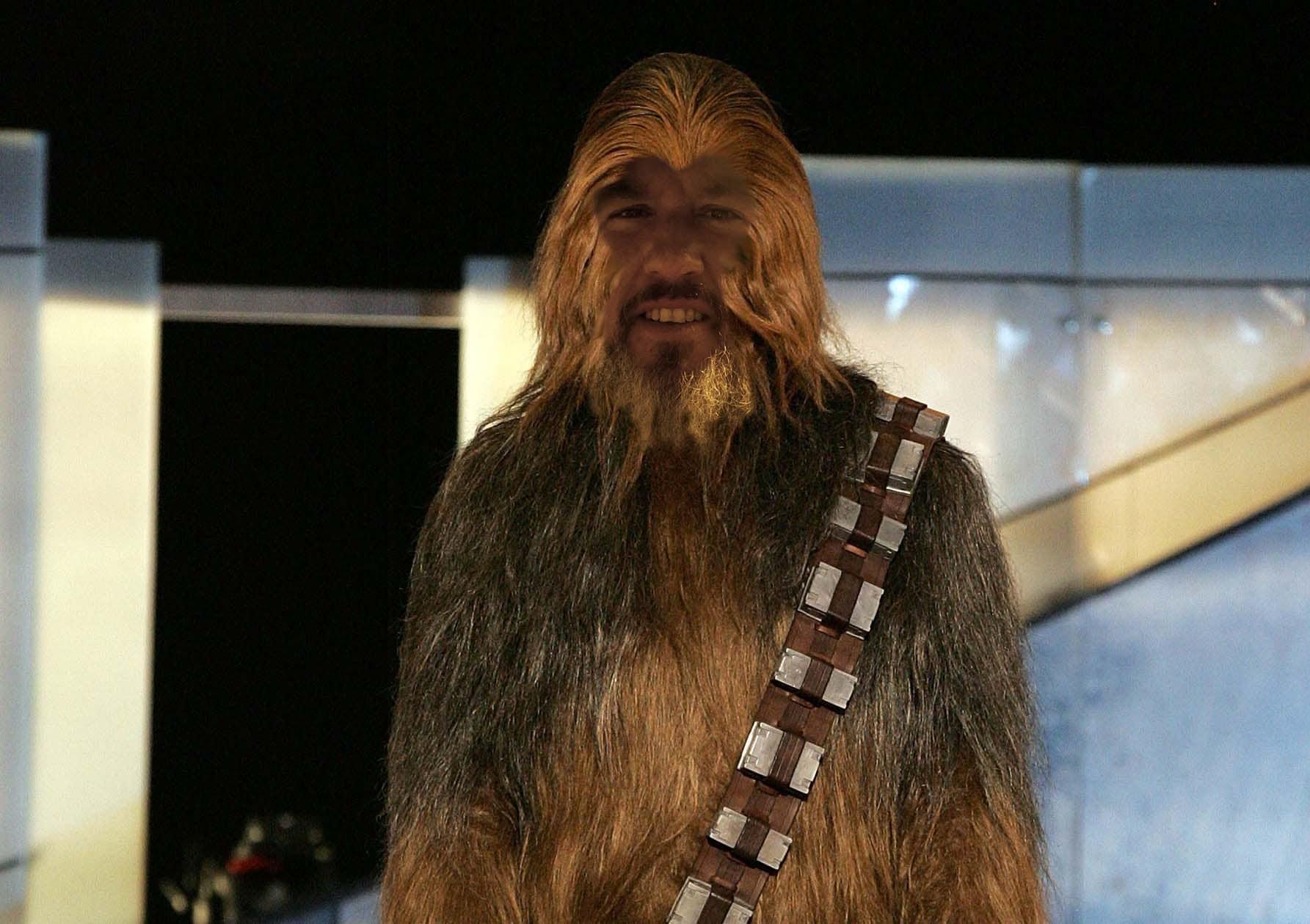 Boo Weekley as Chewbacca
