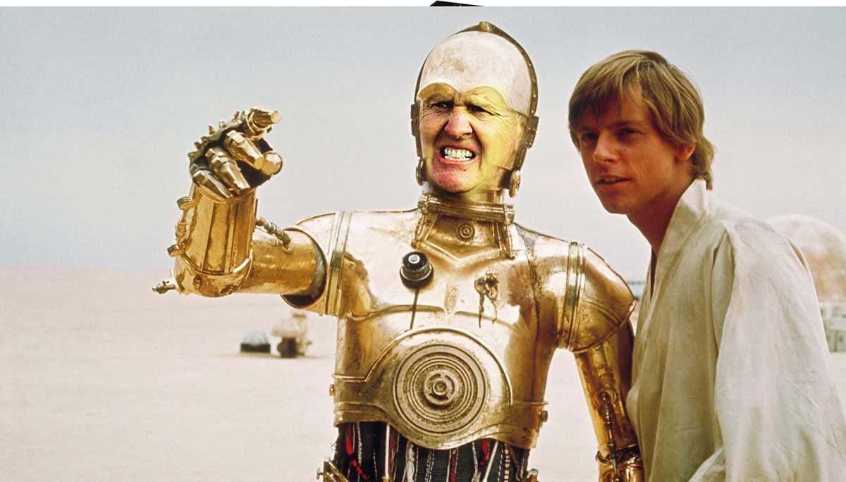 Colin Montgomerie as C-3PO