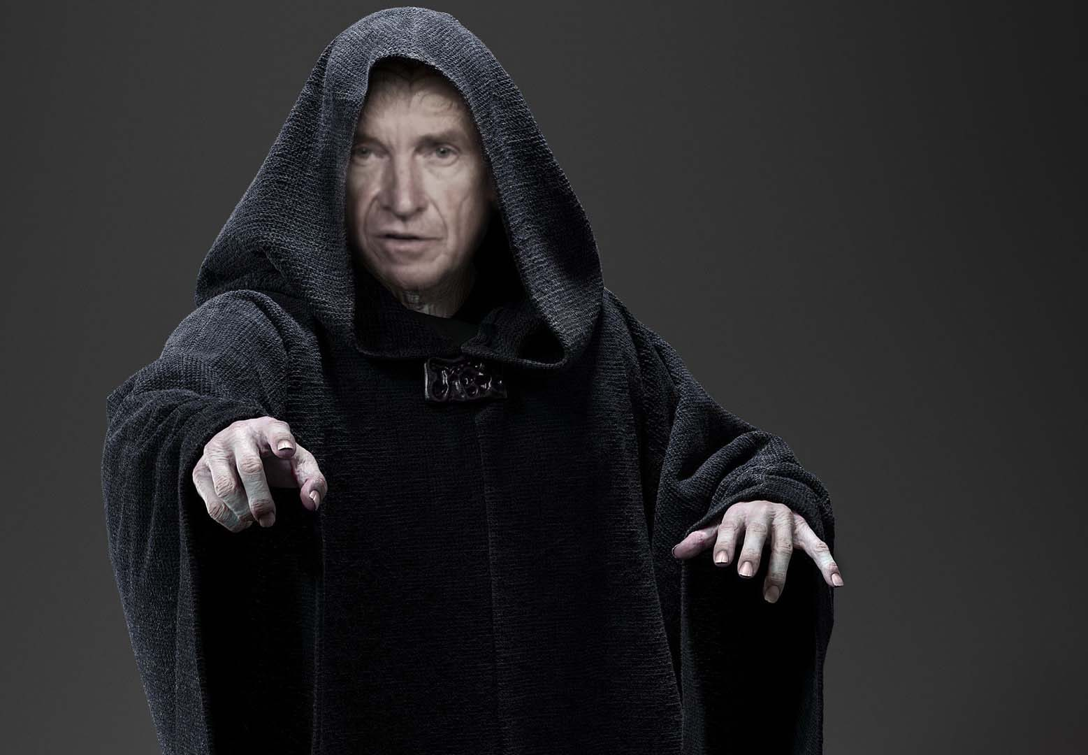 Tim Finchem as The Emperor