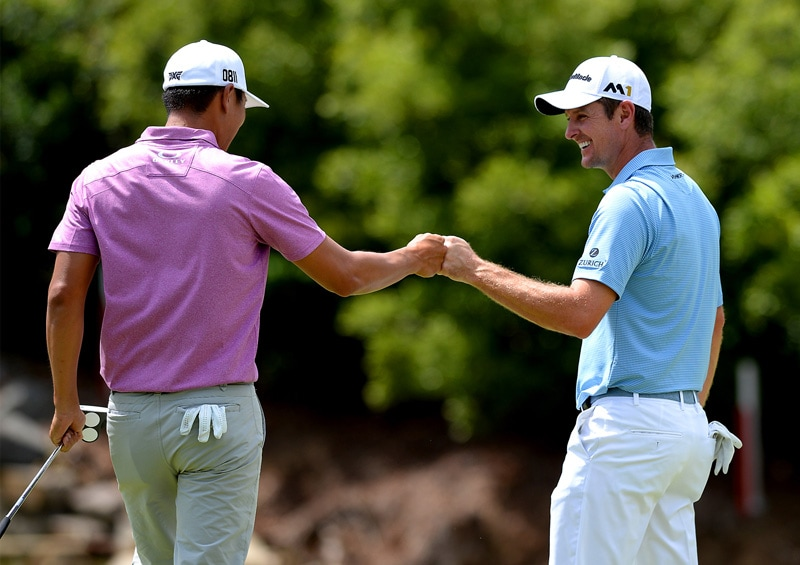 James Hahn and Justin Rose