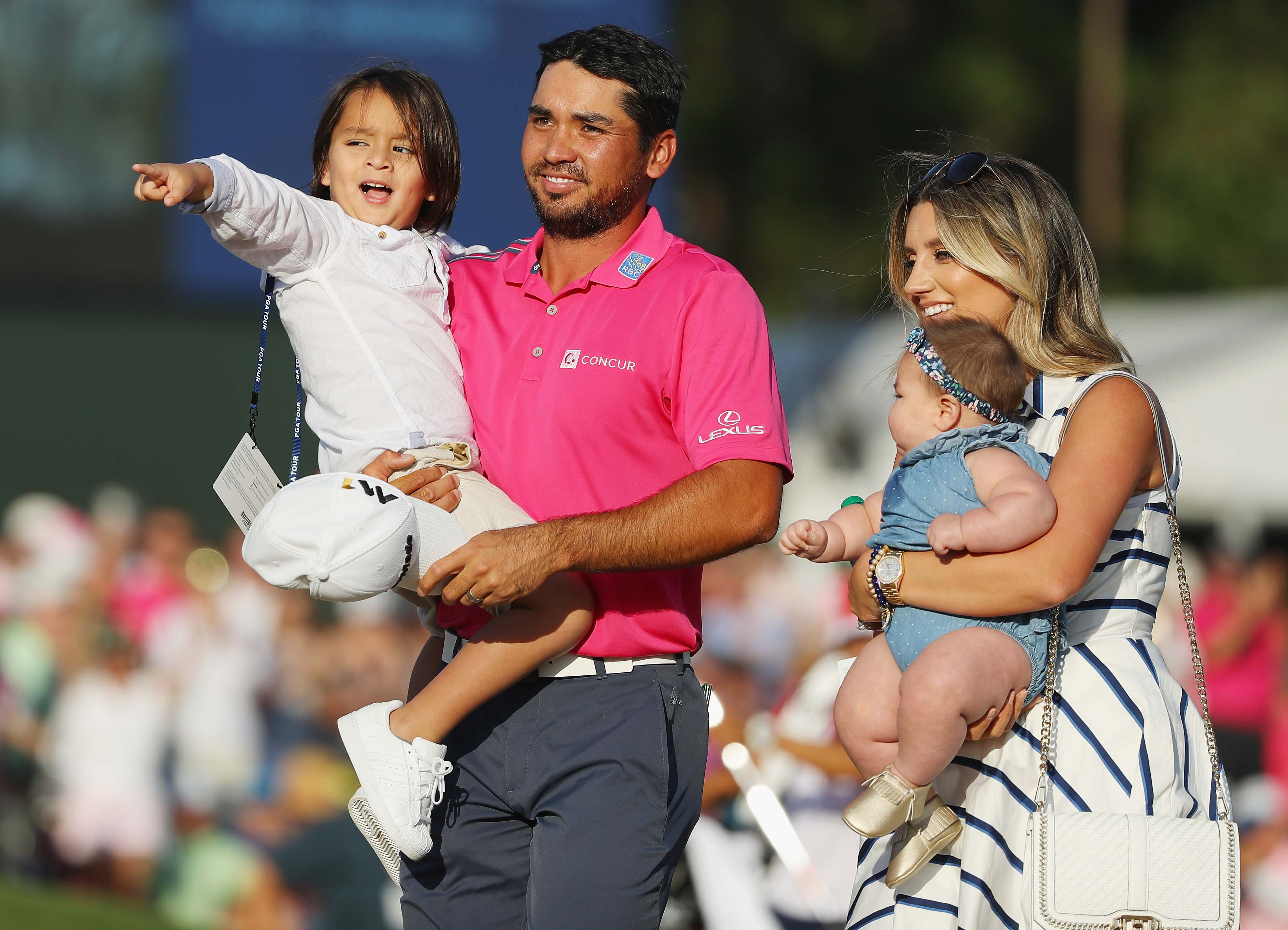 Jason Day and family
