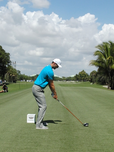 Kaymer swing sequence, 1
