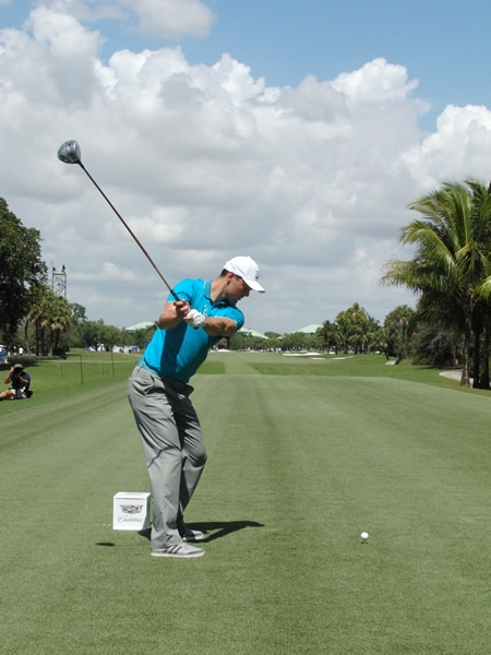Kaymer swing sequence, 4