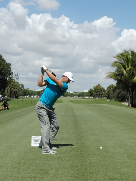Kaymer swing sequence, 5
