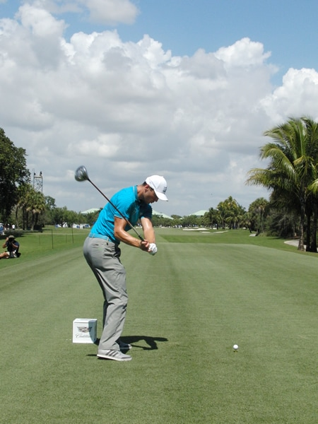 Kaymer swing sequence, 7