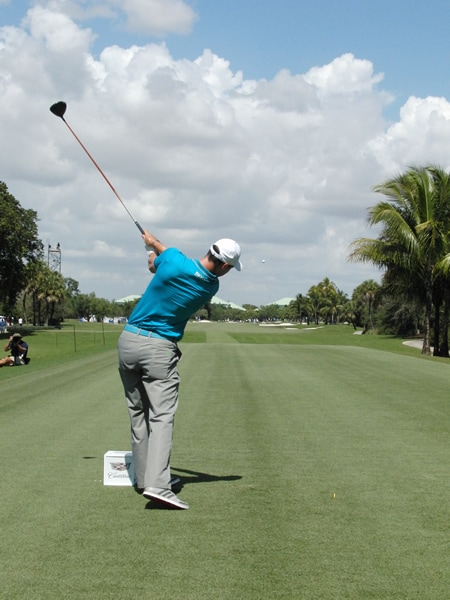 Kaymer swing sequence, 9