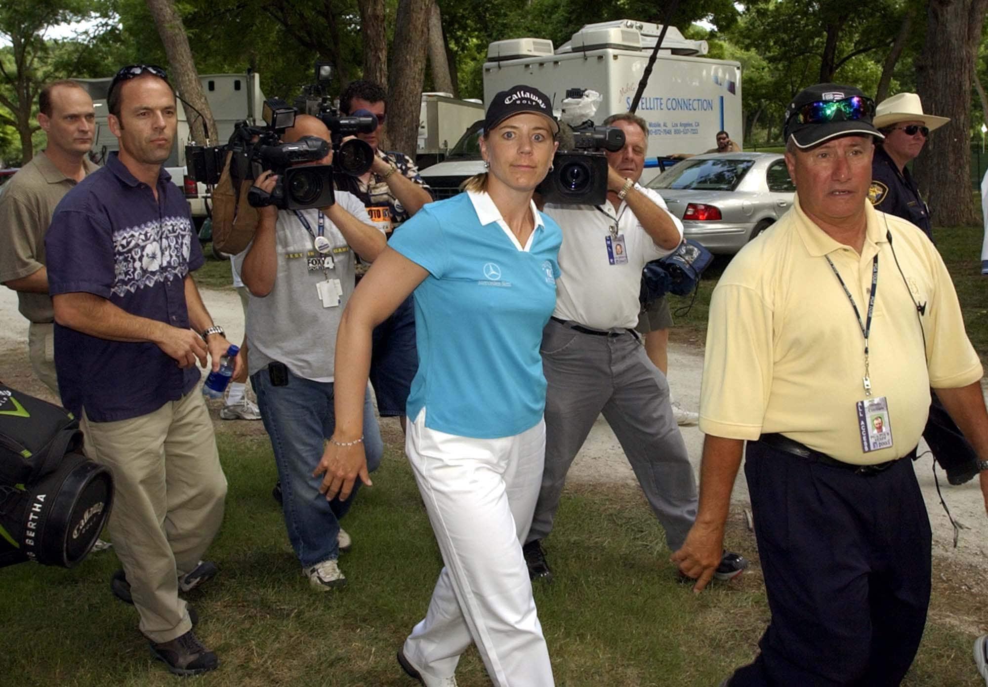 1. 2003: Annika tests herself