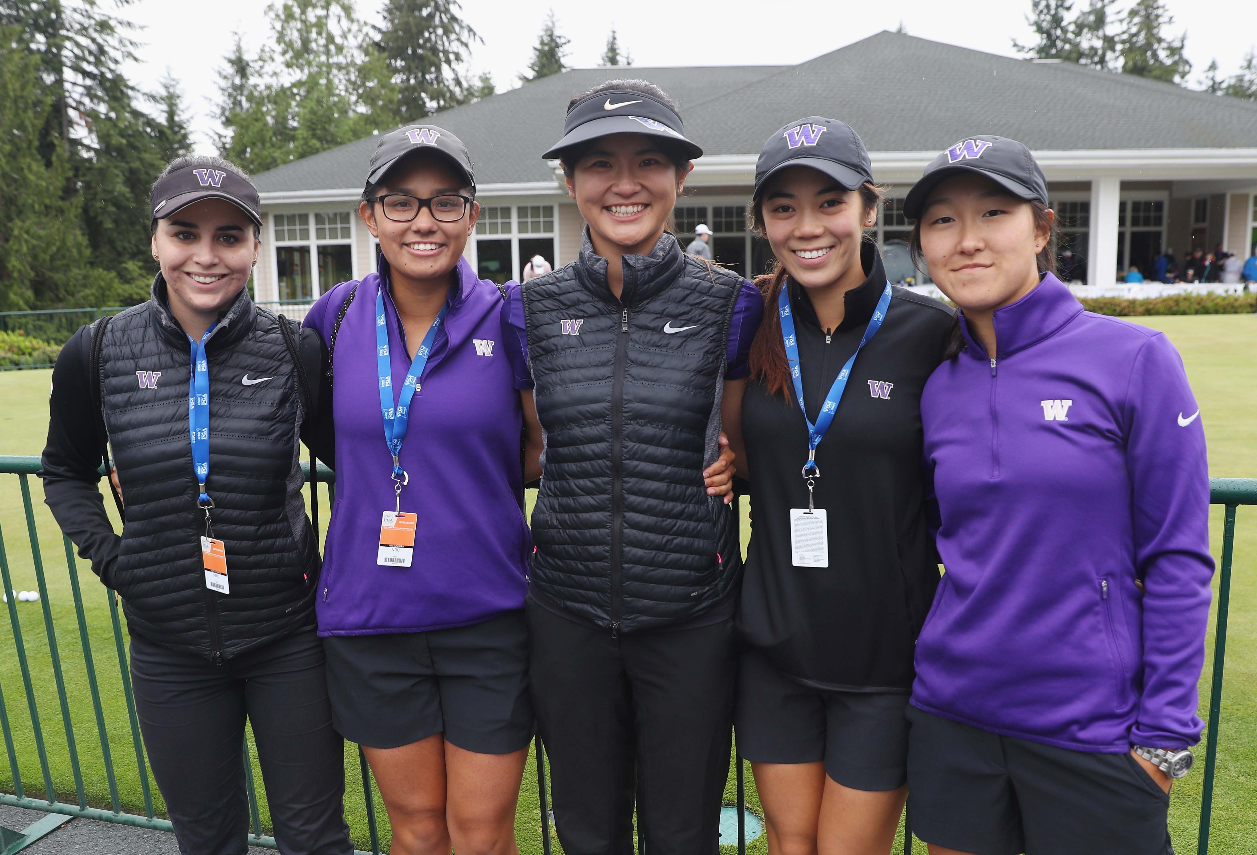 University of Washington women's golf team