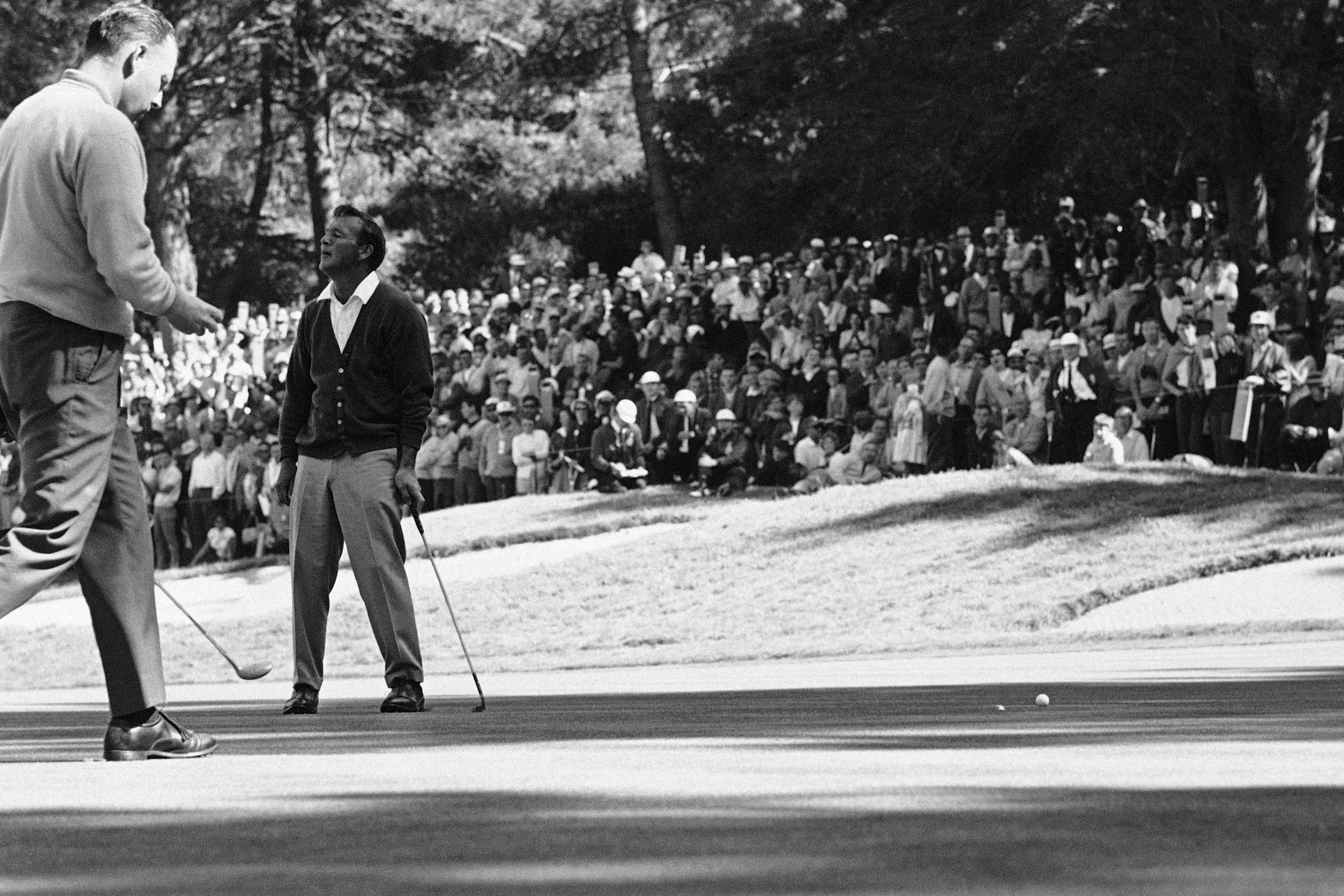 4. 1966: Arnie reverses the charge