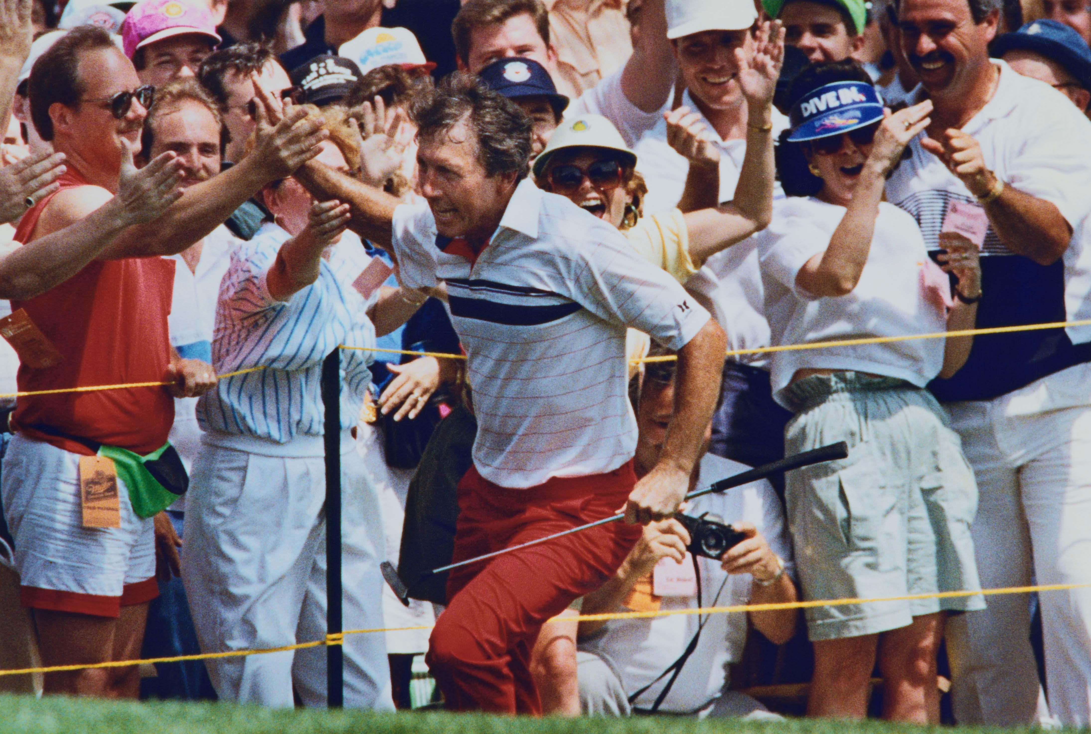 13. 1990: Irwin takes a lap
