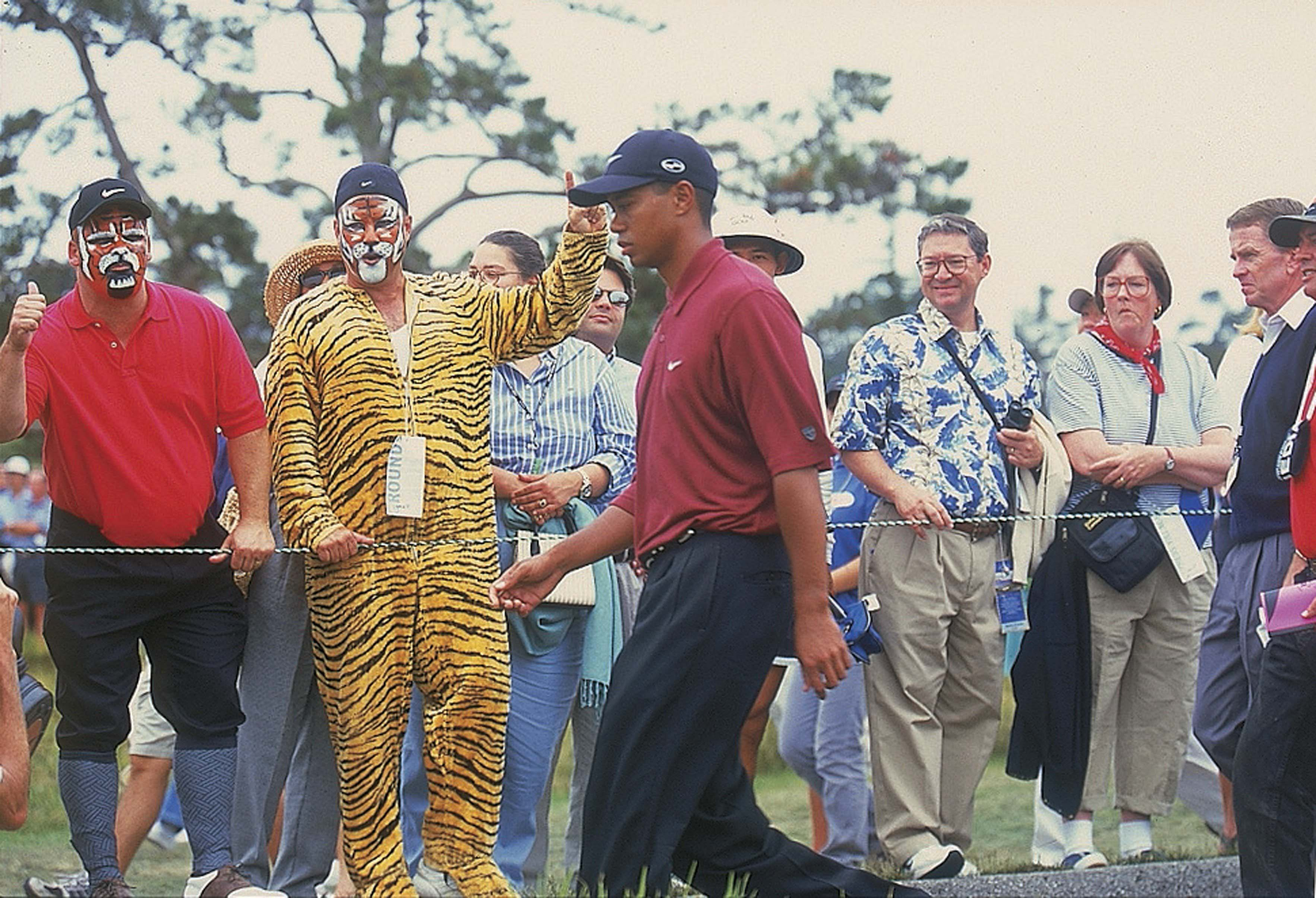 6. 2000: Tiger turns Pebble into rubble