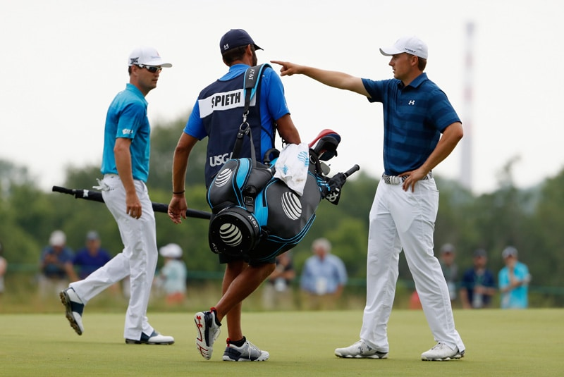 Jordan Spieth and Zach Johnson