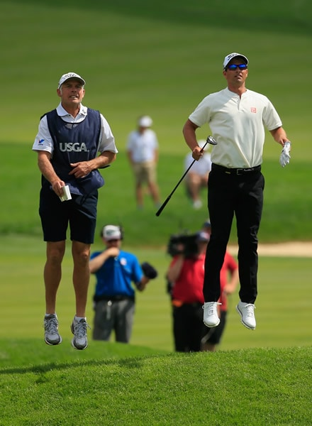 Steve Williams, Adam Scott