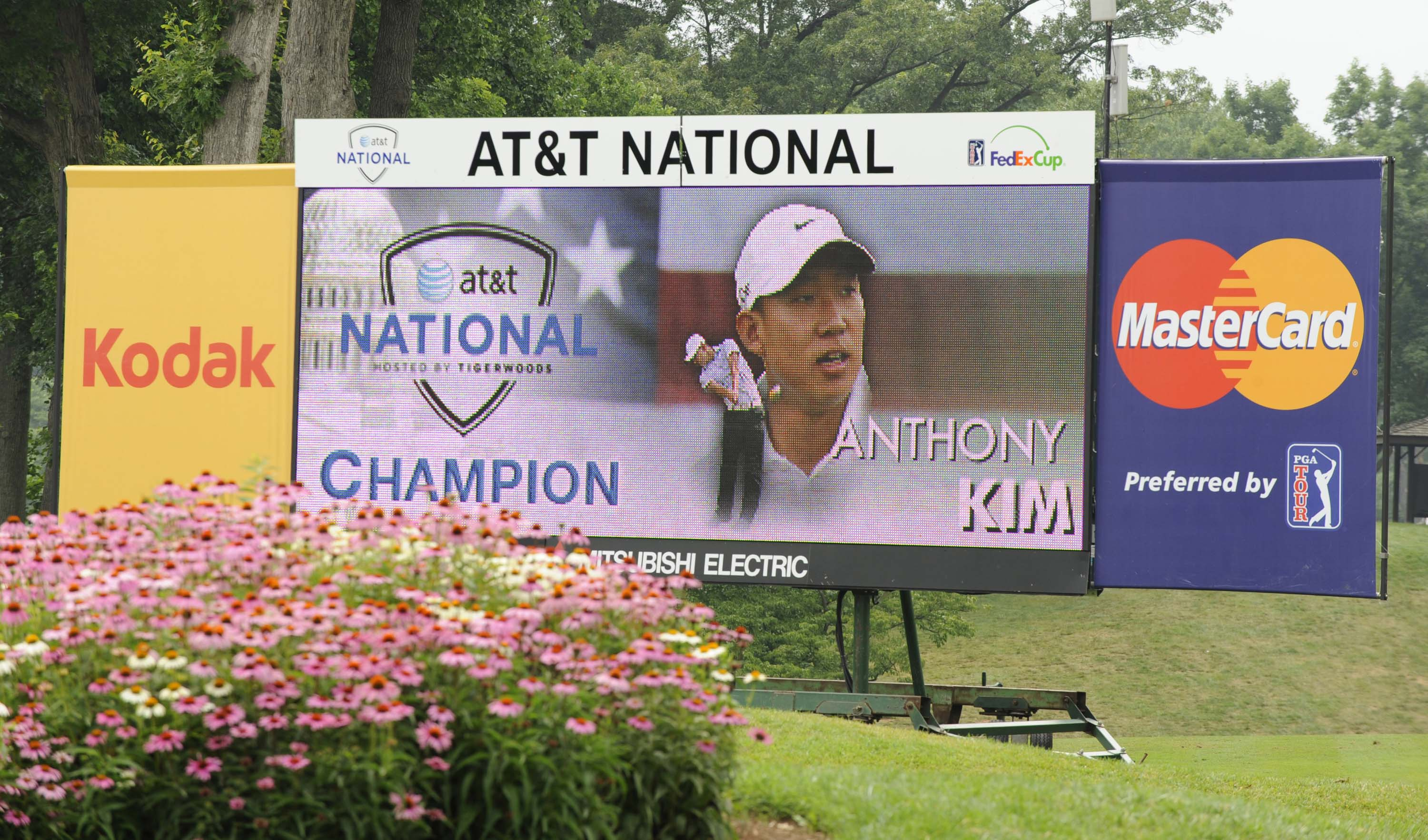 2. 2008: Anthony Kim wins