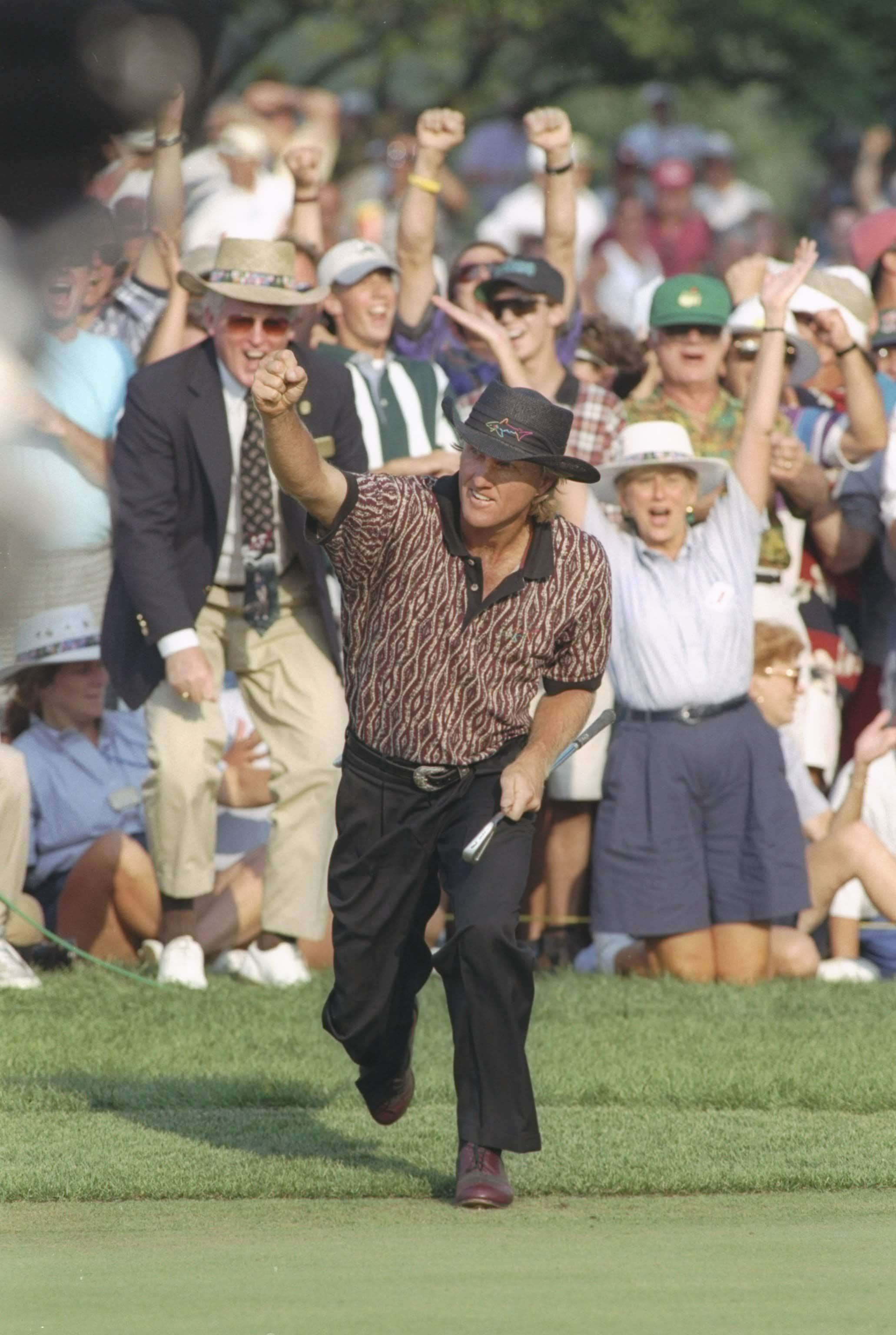 5. 1995: Norman's doubly memorable win