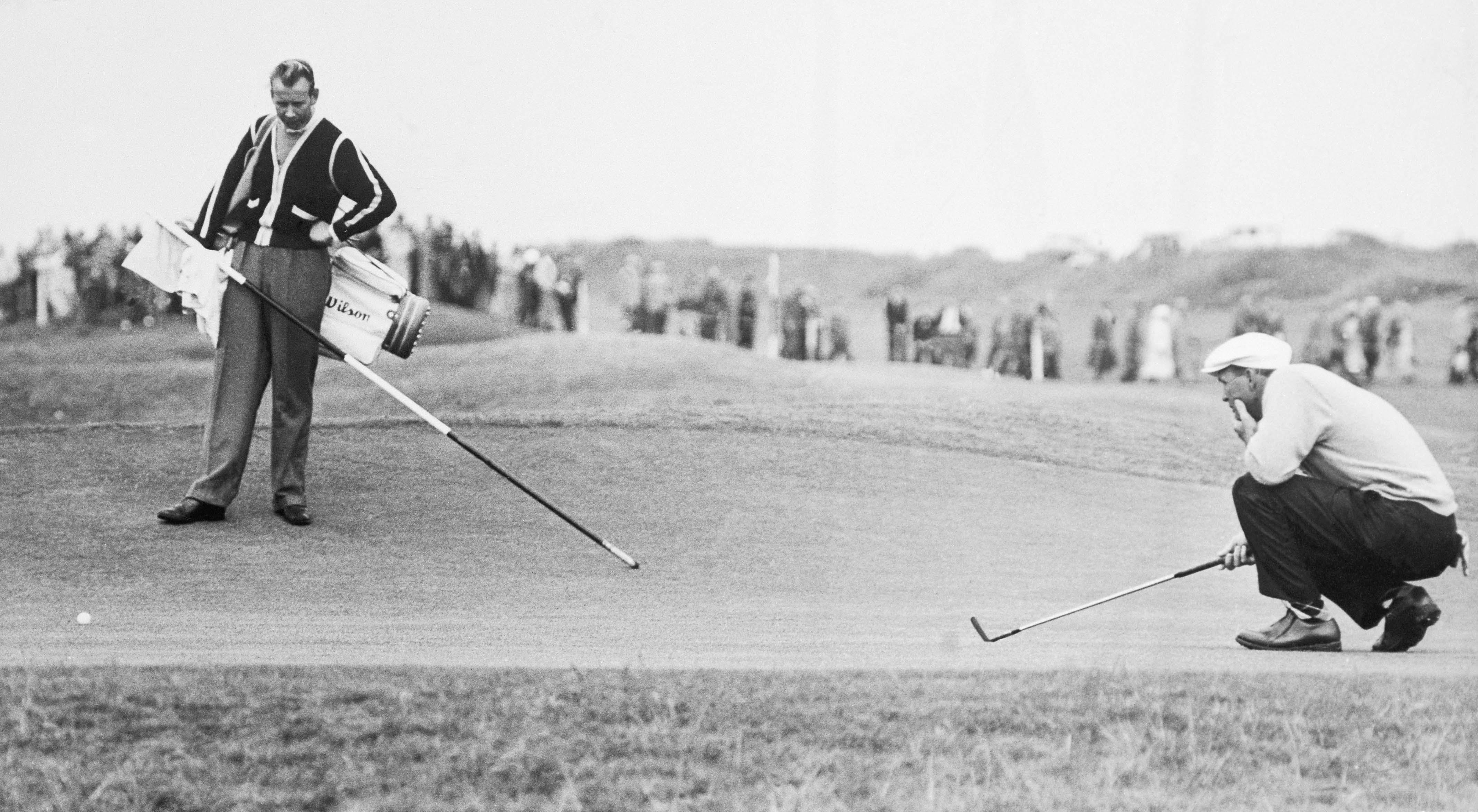 8. 1960: Arnie crosses the pond
