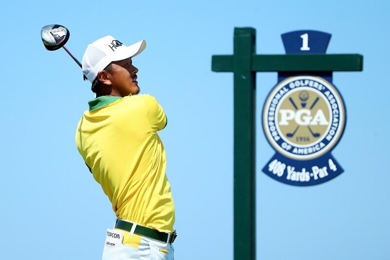 Hiroshi Iwata, 2015 PGA Championship