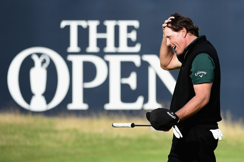 Phil Mickelson, 2016 Open