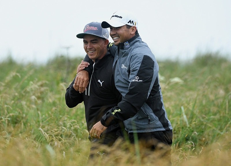 Rickie Fowler and Jason Day