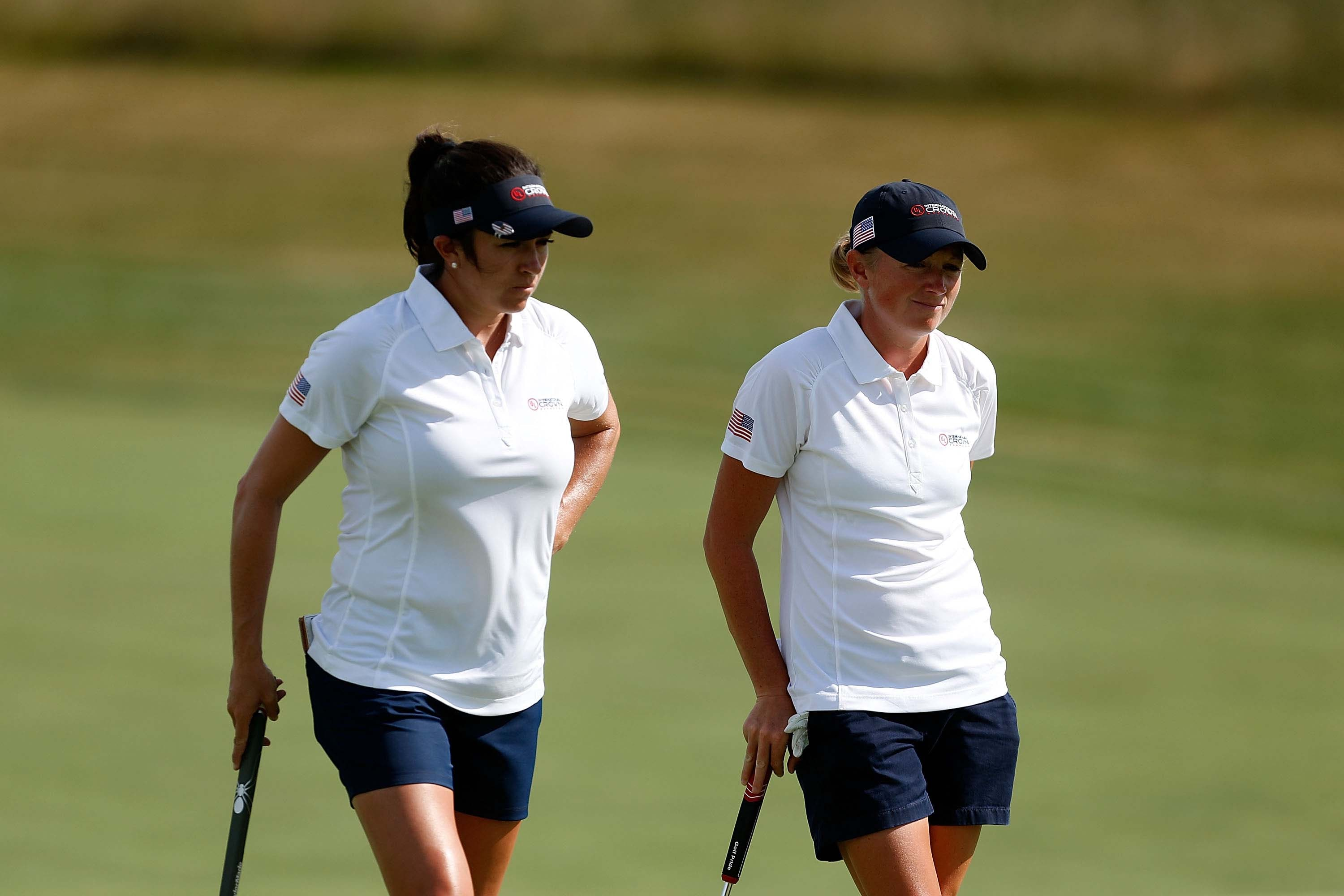 Gerina Piller and Stacy Lewis