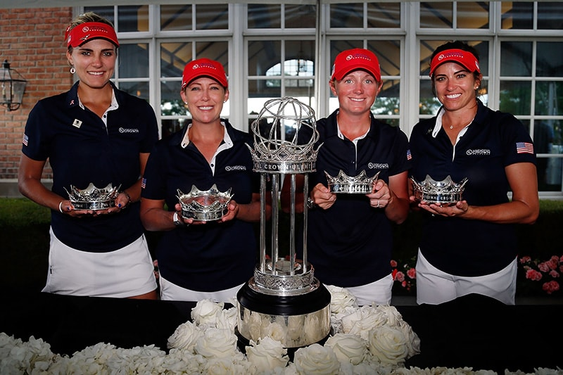 Lexi Thompson, Cristie Kerr, Stacy Lewis and Gerina Piller