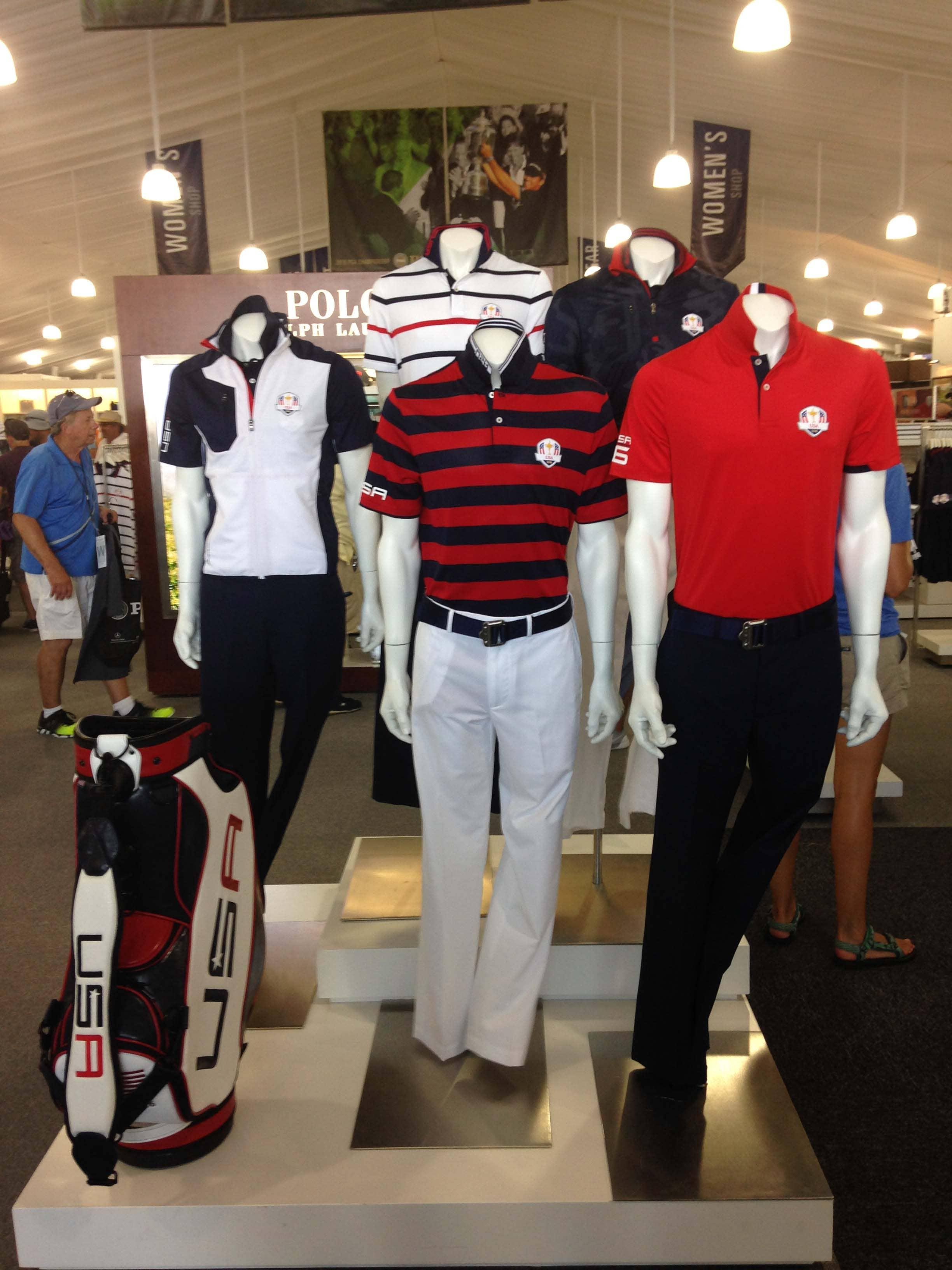Team USA Ryder Cup uniforms