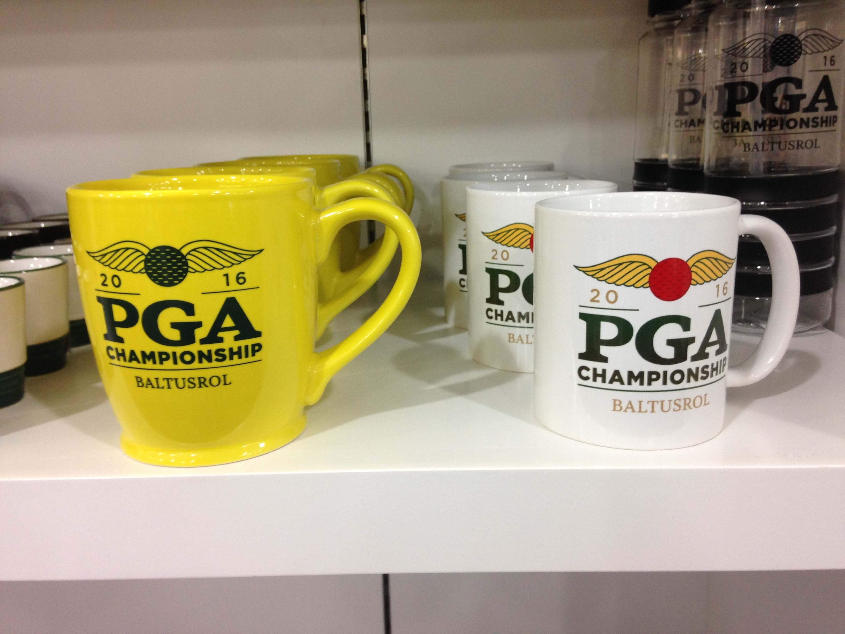 PGA Championship coffee mugs