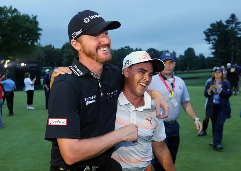 Jimmy Walker and Rickie Fowler