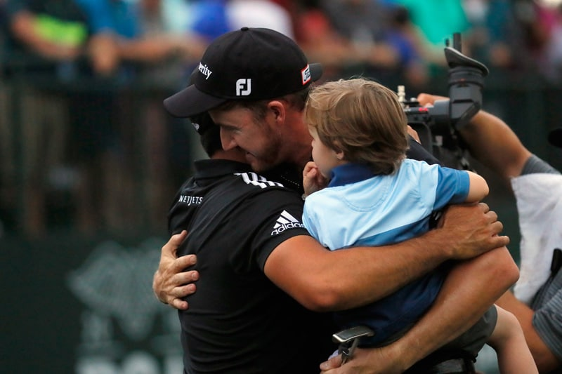 Jimmy Walker and Jason Day