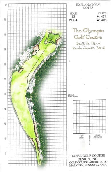 Olympic Golf Course: No. 13
