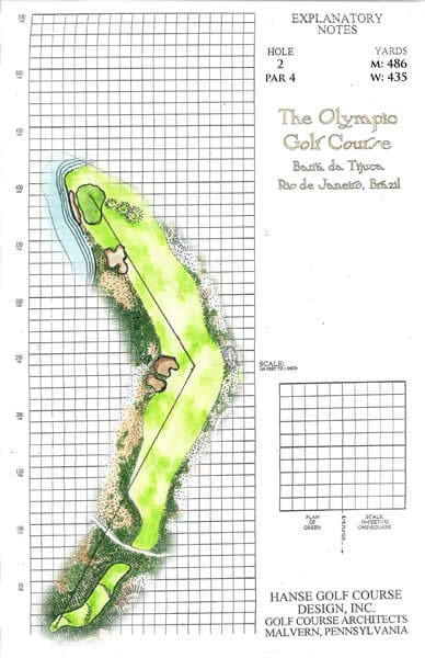 Olympic Golf Course: No. 2